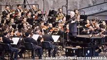 Deutschland - Konzert West-Eastern Divan Orchestra auf der Waldbühne in Berlin
