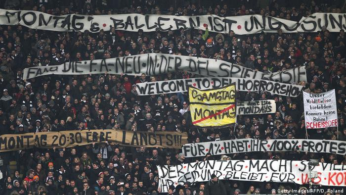 Fußball DFB-Pokal 2018 Fans Proteste