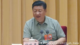 China Peking - Xi Jinping bei CMC Parteitreffen