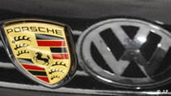 Porsche and Volkswagen logos