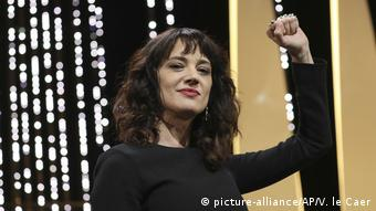 Asia Argento at the Cannes Film Festival (picture-alliance/AP/V. le Caer)