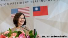 USA Houston - Taiwans Präsidentin Tsia Ing-Wen besucht die NASA (Taiwan Presidential Office)
