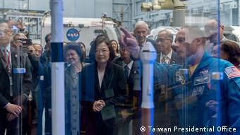USA Houston - Taiwans Präsidentin Tsia Ing-Wen besucht die NASA (Taiwan Presidential Office)
