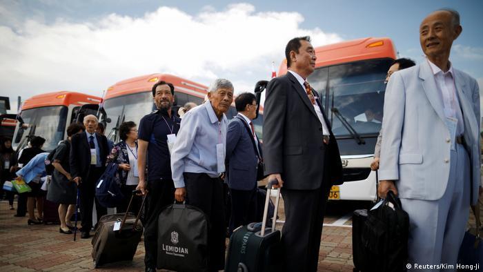 Familienzusammenführungen Nord- und Südkorea (Reuters/Kim Hong-Ji)