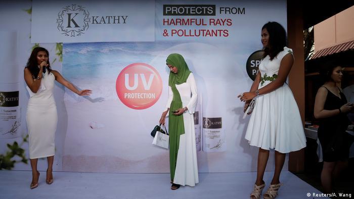 Myanmar - Leben als Muslima in Yangon - Bloggerin Win Lae Phyu Sin (Reuters/A. Wang)