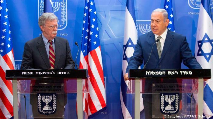 Netanjahu empfängt US-Sicherheitsberater Bolton (Foto: Getty Images)