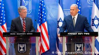 Israel Netanjahu empfängt US-Sicherheitsberater John Bolton