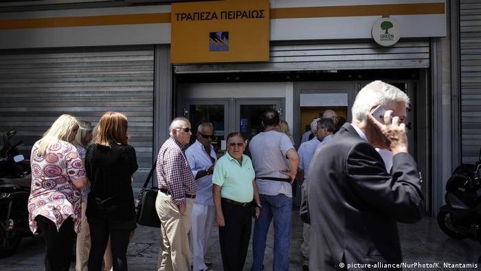 Griechenland Finanzkrise l EU-Rettungspaket