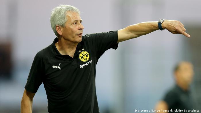 Fussball Bundesliga - BVB Trainer Lucien Favre Saison 2018/2019, 1.Bundesliga: BVB, Borussia Dortmund - Stade Rennes, Trainingslager, Testspiel,