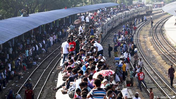 Bangladesch - Vorbereitungen zu Eid-ul-Azha