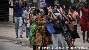 Uganda Proteste in Kampala