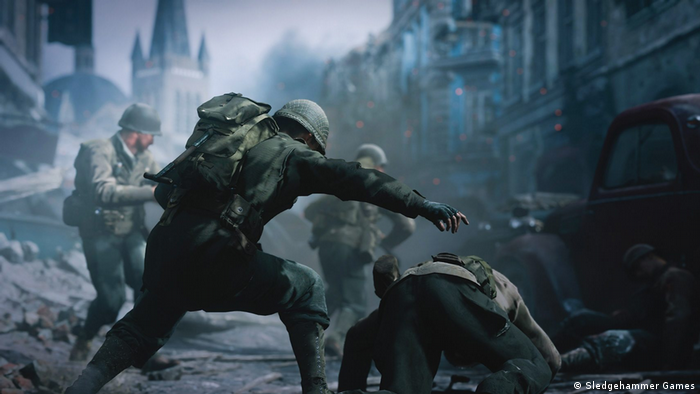 Screen shot from the video game Call of Duty WWII. (Sledgehammer Games)