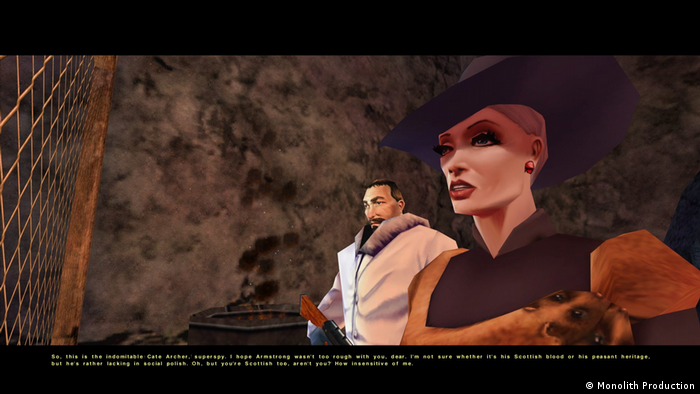 Screen shot, video game No One Lives Forever (Monolith Production)