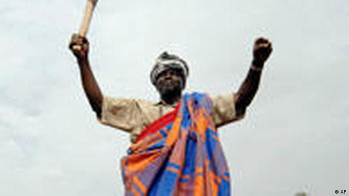 Präsidentschaftskandidat Kumba Yala (AP)