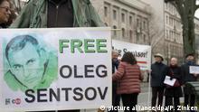 Protest Oleg Senzow Berlin