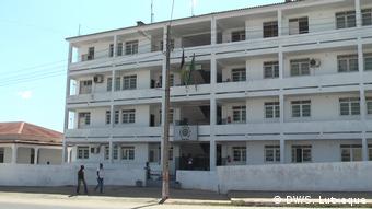 Polizeizentrale in Cabo Delegado, Mosambik