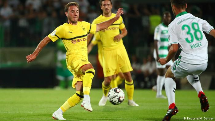 Fußball DFB-Pokal Greuther Fürth vs Borussia Dortmund