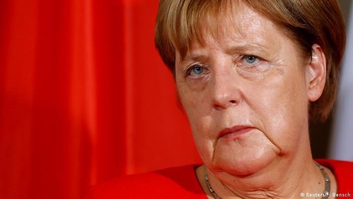 Deutschland Bundekanzlerin Angela Merkel in Meseberg (Reuters/F. Bensch)