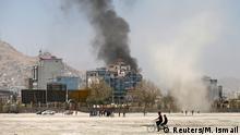 Afghanistan Raketenangriff auf Kabul