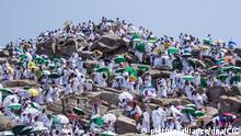 Saudi-Arabien Hadsch-Wallfahrt in Mekka