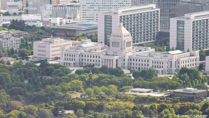 Parlamentsgebäude Japan (Imago/Kyodo News)