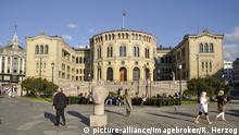 Parlamentsgebäude Norwegen