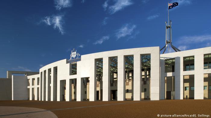 Parlamentsgebäude Australien (picture-alliance/Arcaid/J. Gollings)