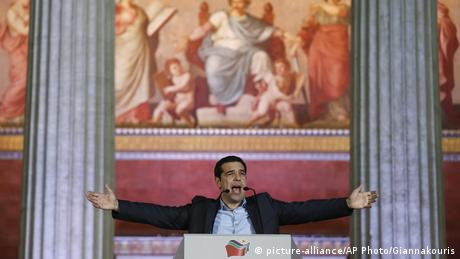 Alexis Tsipras (picture-alliance/AP Photo/Giannakouris)
