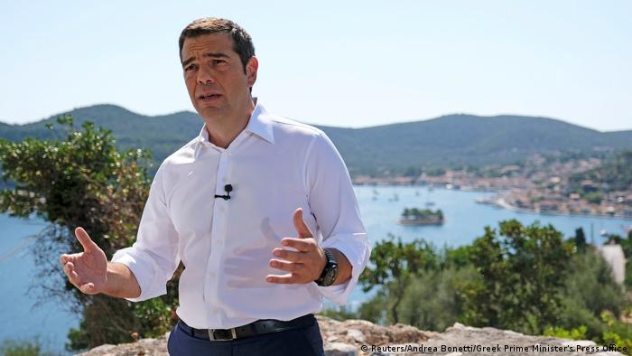Griechenland Alexis Tsipras TV-Ansprache