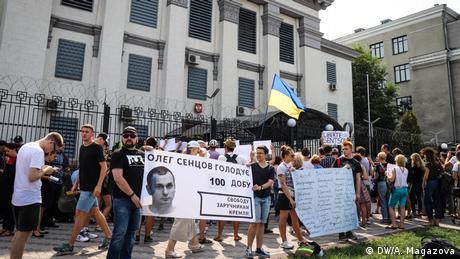 У Олега Сенцова нестача кисню в організмі - сестра