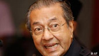 Der ehemalige Premierminister Mahathir Mohamad (Foto: dpa)