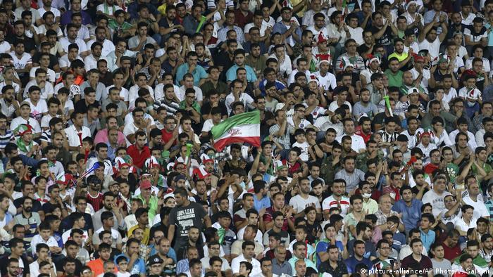 El lleno Estadio Azadi en Teherán, Irán (archivo).