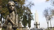 Holodomor-Denkmal in Kiew, Ukraine