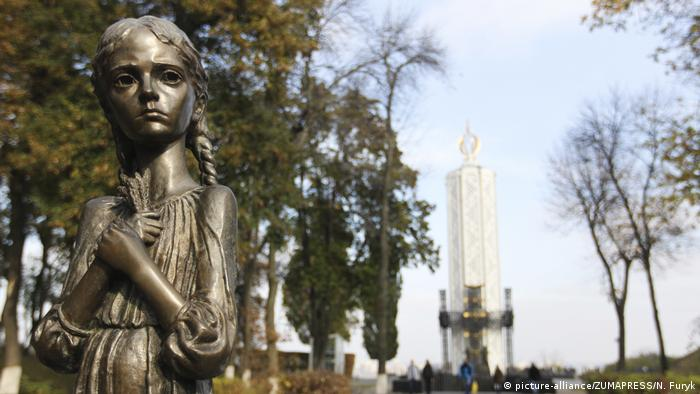 Holodomor-Denkmal in Kiew, Ukraine (picture-alliance/ZUMAPRESS/N. Furyk)