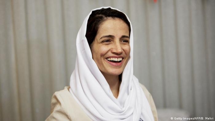 Iran - Nasrin Sotoudeh (Getty Images/AFP/B. Mehri)