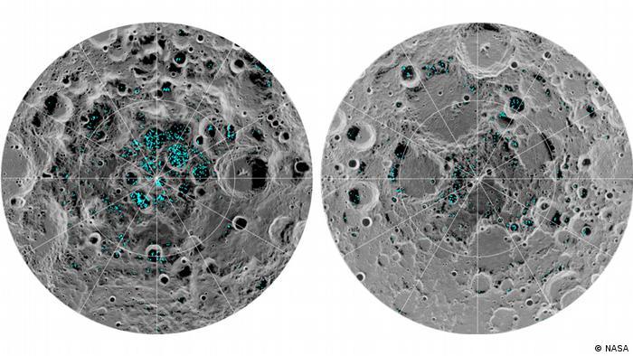 Eis auf dem Mond bestätigt (NASA)