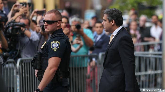USA - Ermittlungen zur Russland-Affäre - Trumps Ex-Anwalt Michael Cohen