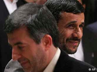 احمدینژاد و رئیس دفترش رحیم مشایی. در تدارک ظهور امام زمان؟
