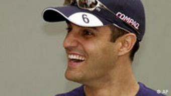 Williams Formel 1 Fahrer Juan Pablo Montoya