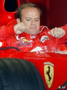 Ferrari Formel 1 Fahrer Rubens Barrichello
