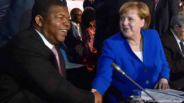 João Lourenço prepara-se para receber Angela Merkel em Luanda