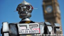 Autonome Waffen | Protest gegen Killerroboter in London