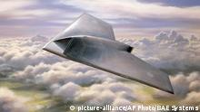 FILE- In this undated artist's rendering provided by BAE Systems, Taranis aircraft is shown. A new United Nations draft report posted online this week objects to the use of weapons systems like the Taranis that can attack targets without any human input. The report for the U.N. Human Rights Commission deals with legal and philosophical issues involved in giving robots lethal powers over humans, echoing countless science-fiction novels and films. (AP Photo/BAE Systems) UNITED KINGDOM OUT; NO SALES; NO ARCHIVE |