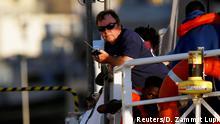 Claus-Peter Reisch Kapitän der Lifeline