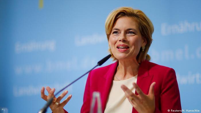 Deutschland PK Julia Klöckner in Berlin (Reuters/H. Hanschke)