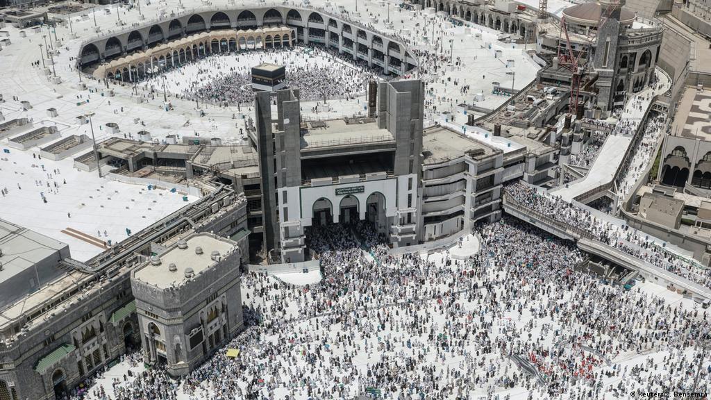 Hajj in high summer: Muslims make Mecca pilgrimage | World