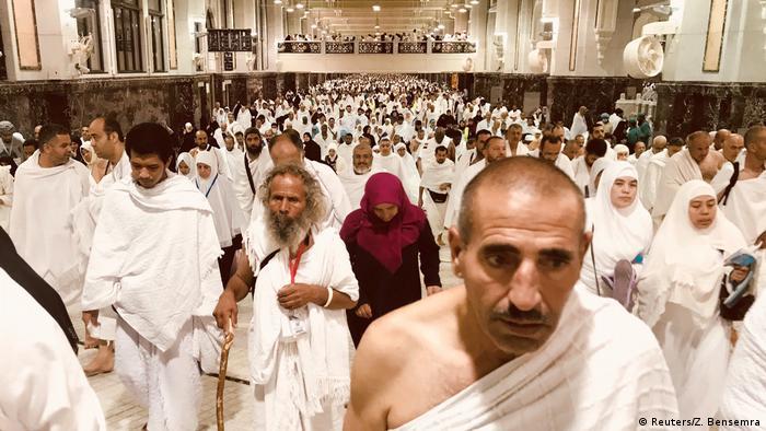 Saudi-Arabien Hadsch in Mekka (Reuters/Z. Bensemra)