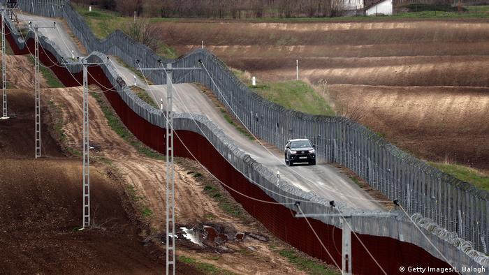 Dvostruka ograda na mađarsko-srpskoj granici