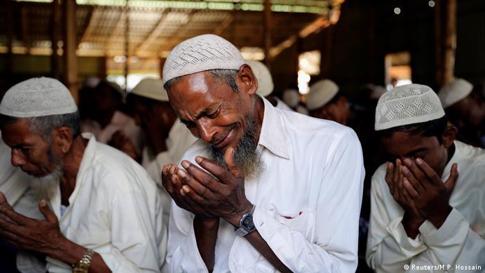 Bangladesch Rohingya feiern Opferfest im Flüchtlingslager (Reuters/M.P. Hossain)