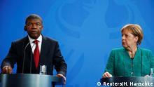 Angolanischer Präsident Lourenço bei Kanzlerin Merkel